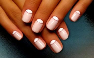 Розовый гель-лак
